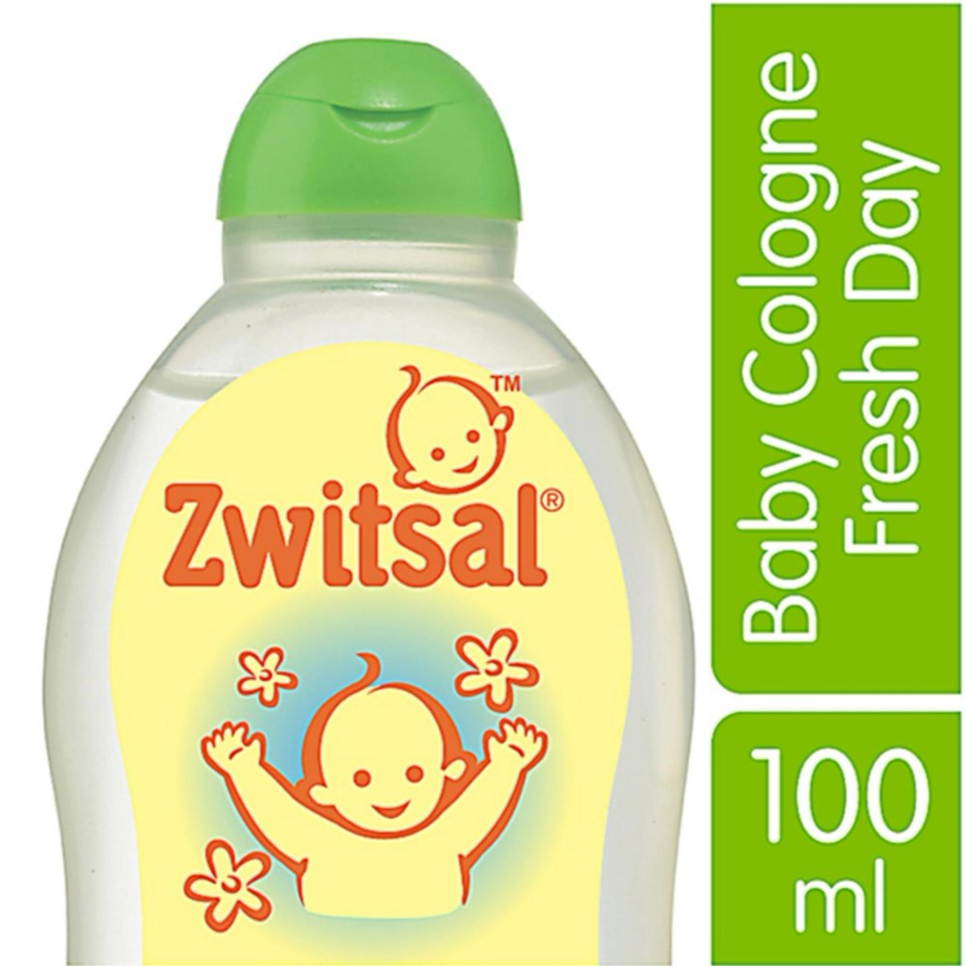 Zwitsal Baby Cologne Natural Fresh Day - 100mL