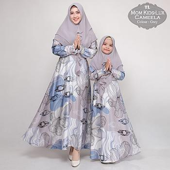 Review Couple Baju Pesta Ibu Dan Anak Murah Couple Gamis Pesta