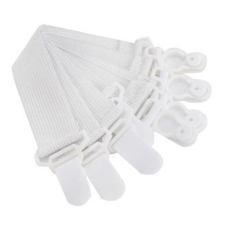 ... Sheet Grippers Pengait Ujung Seprei 4 pcs Unik Kait Ujung Tempat Tidur - 5