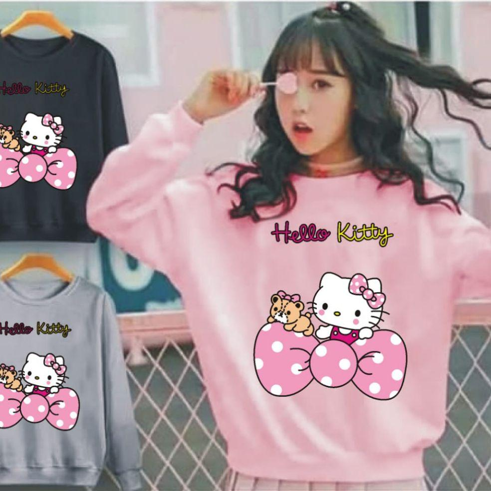 LEANSHOPING sweater hello kitty PITA