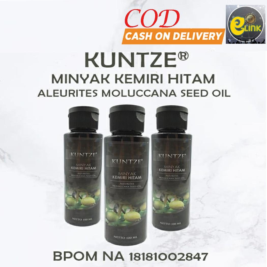 Kuntze Minyak Kemiri Penyubur & Penghitam Rambut Alami BPOM Original 100 ml