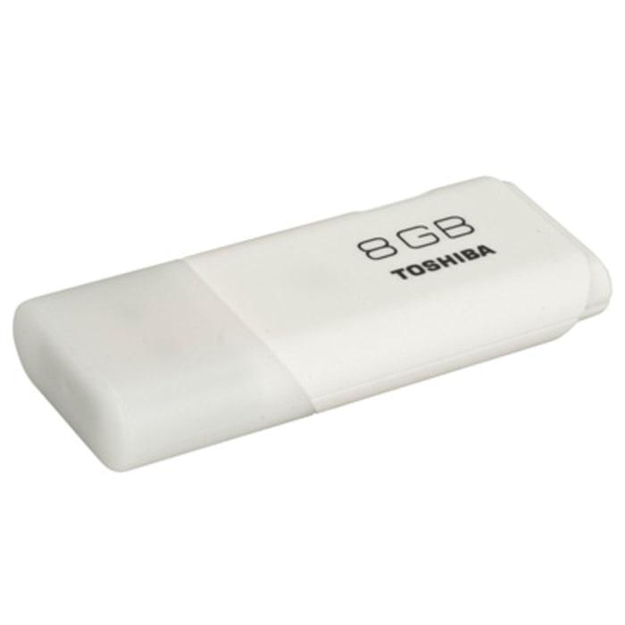Flashdisk Toshiba USB Flash Drive 8GB - Putih