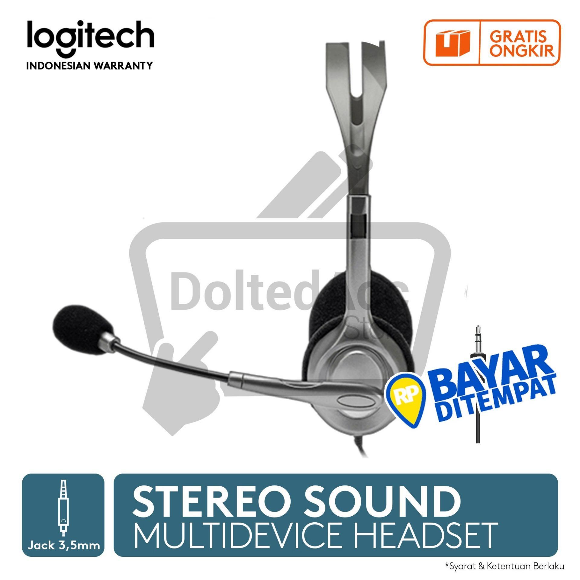 ... Logitech Stereo Headset H111- Hitam - 3
