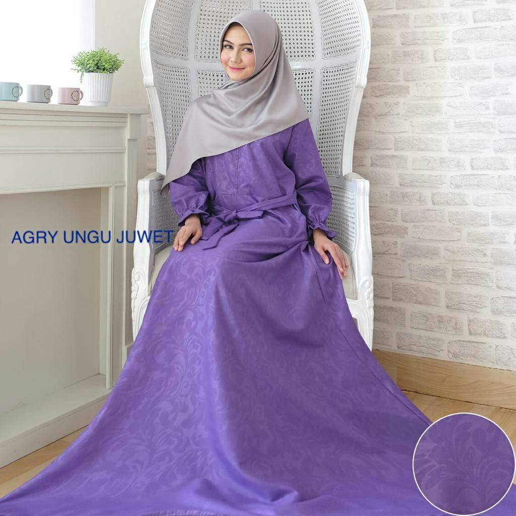kbs-Gamis Syari Muslim Dress Hijab Muslimah Atasan Wanita Longdress Busui Terbaru - 2