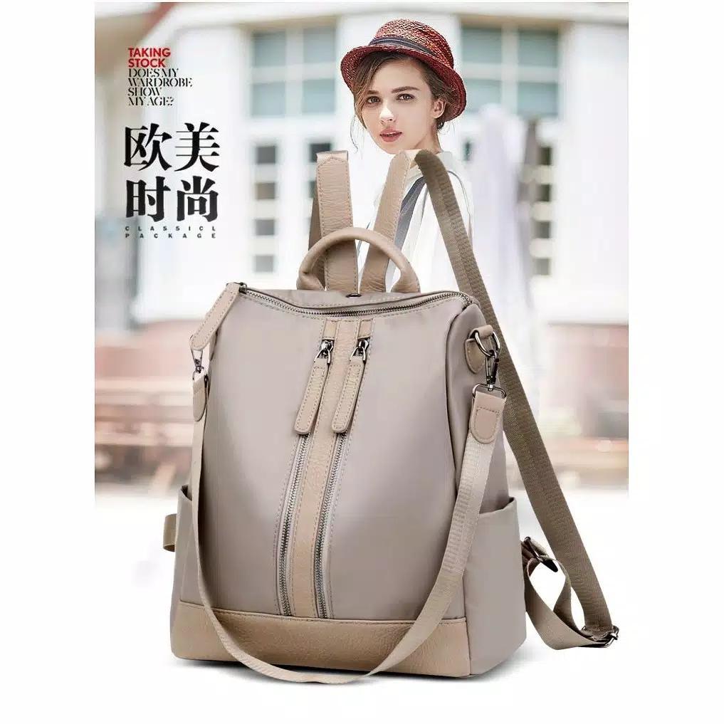 Backpack Ransel Tas Punggung ABG Remaja Wanita Import Korean JC-BP 05