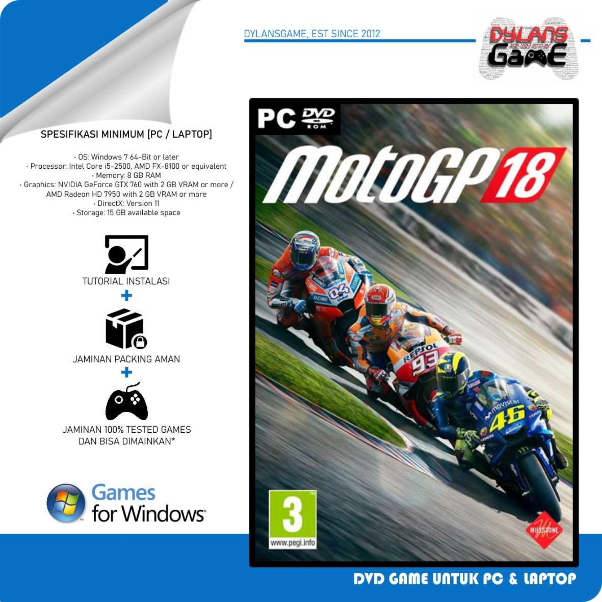 motogp 17 pc game dvd game pc laptop