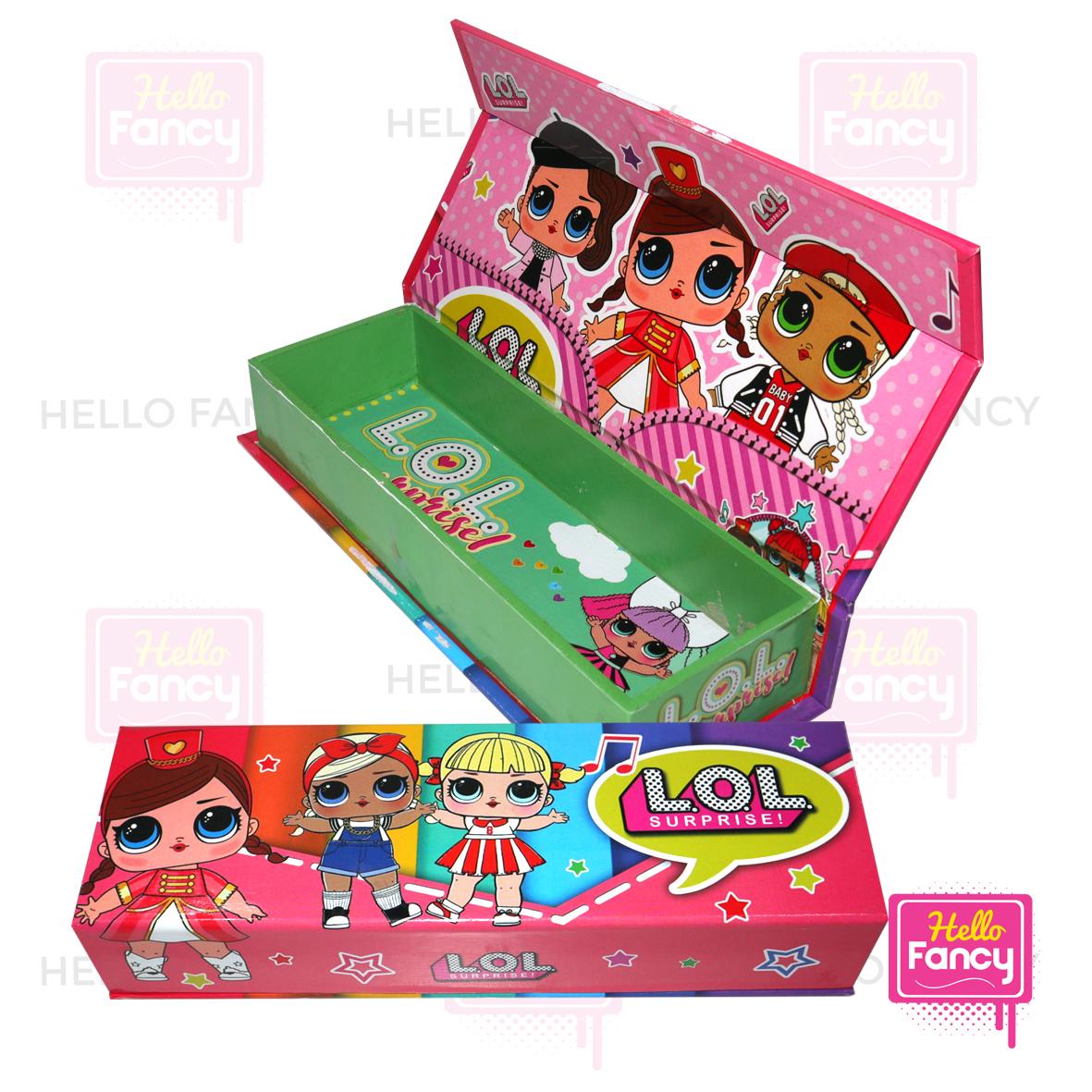 kotak pensil magnet / tempat pensil /tempat pensil magnet+isi xd-9526s