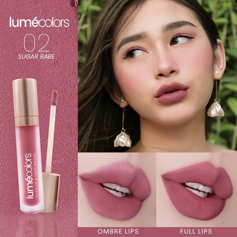 lipstik lipmatte lipcream korea tahan lama anti air tidak pecah – lumecolors velvet lip & cheek mousse crimson red – bukan lipstickk wardah implora maybelline makeover loreal