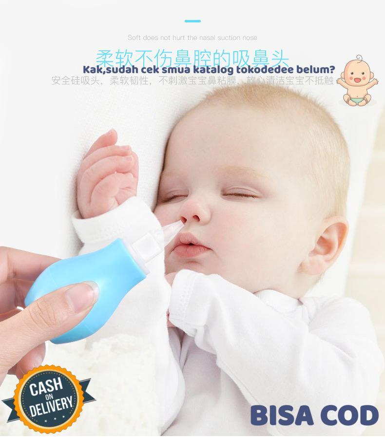 kuke penyedot ingus bayi / pembersih hidung bayi / nasal aspirator