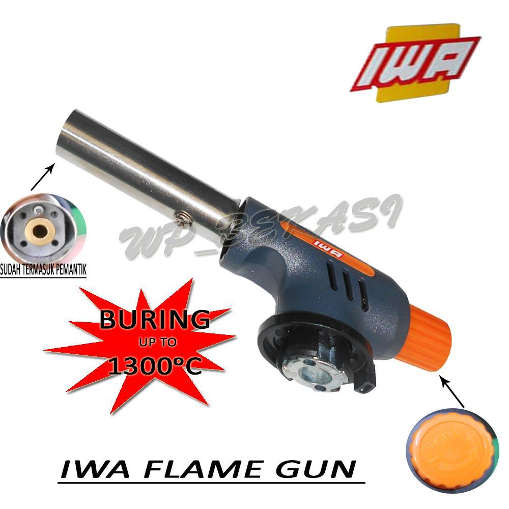 IWA Flame Gun Gas Torch Alat Pemantik Api ISO9001