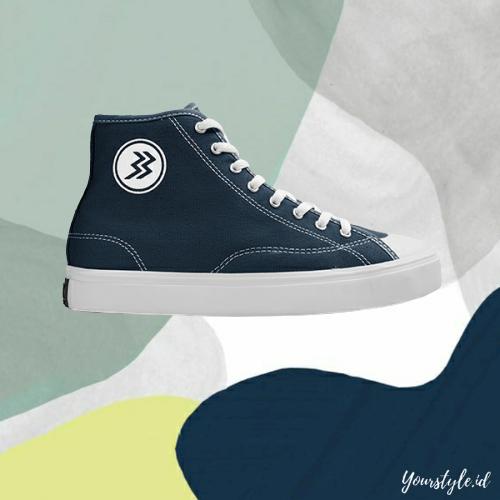 yourstyle.id – sepatu pria sneakers casual trendy original geoff max type timeless hi black navy white