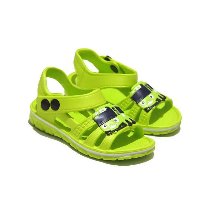 Sendal Sepatu Anak Karakter Tayo - Sepatu Sandal Karet Anak Laki-Laki  155E-TY Warna Random - 2