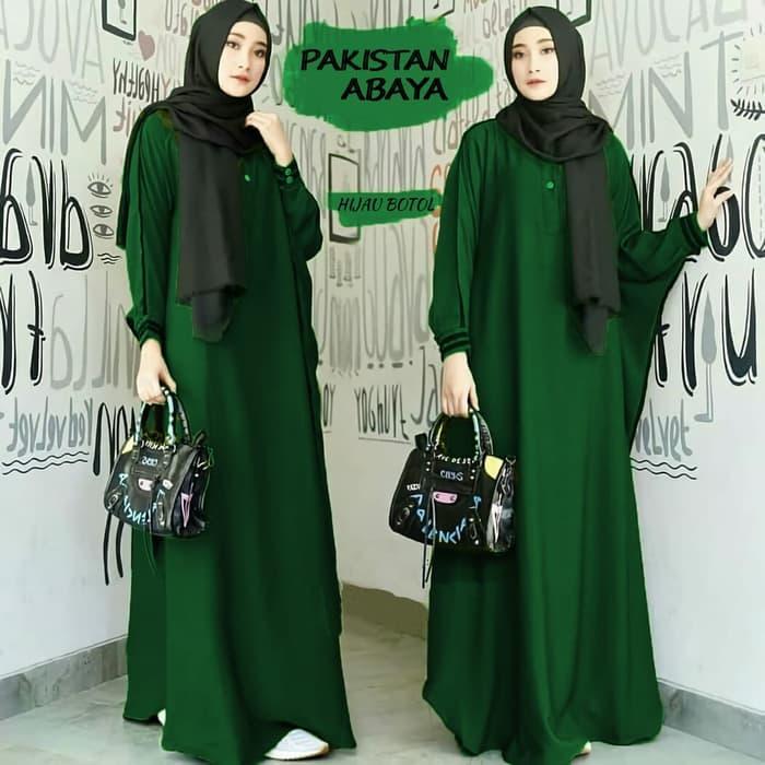 gamis muslim syari balotelly sherly hitam. Source · Pakistan abaya NS Baju Kondangan Pengajian Pesta