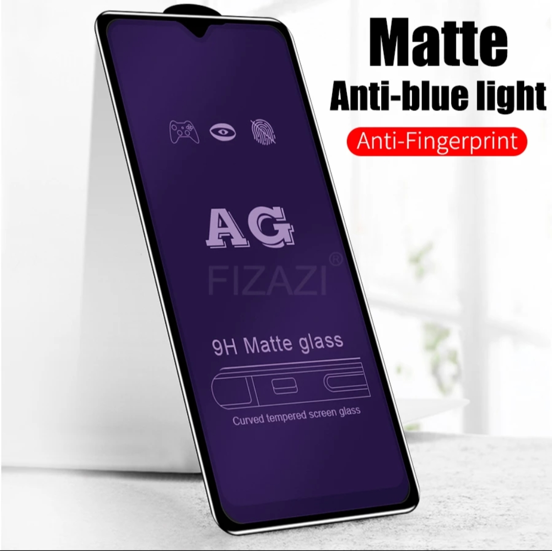 neo tempered glass matte oppo a31 anti minyak anti blue light pelindung layar