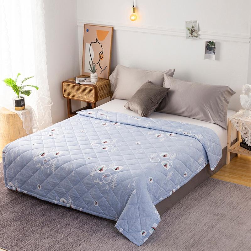 selimut bed cover korean design
