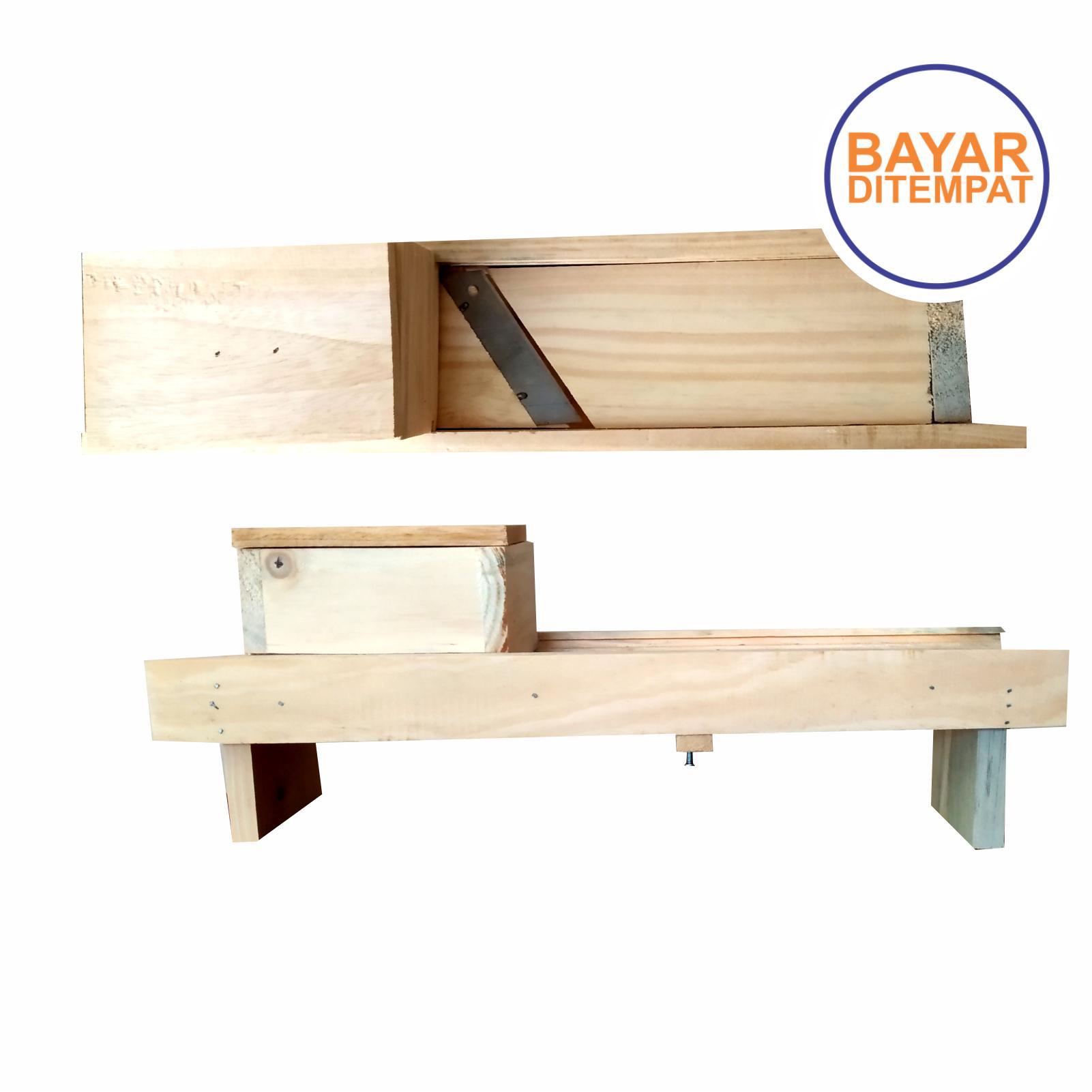 bayar ditempat alat pasah brambang  alat potong tempe alat buat kripik alat pasah bawang kayu  ukuran besar tanggung