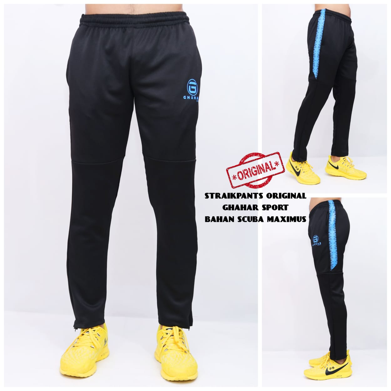 celana training straikpants pria / celana olahraga pria sepeda-jogging-jalan santai /celana ghahar sport