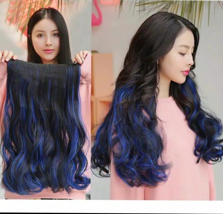 hair clip  ombre wave korea/berwarna