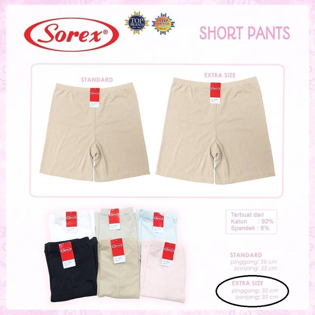 Detail Gambar FAIDH- Celana Short Katun Sorex 53262 Short Pant Hot Pant Big Size Jumbo Besar Terbaru
