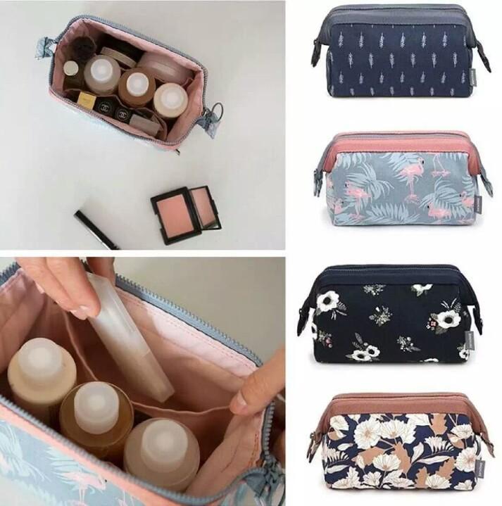 Eltee Tas Kosmetik Import / Cosmetic Pouch / Tempat Make Up