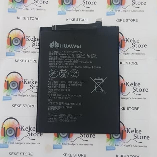 baterai huawei nova 2i 2 plus hb356687ecw battery batre original pabrik