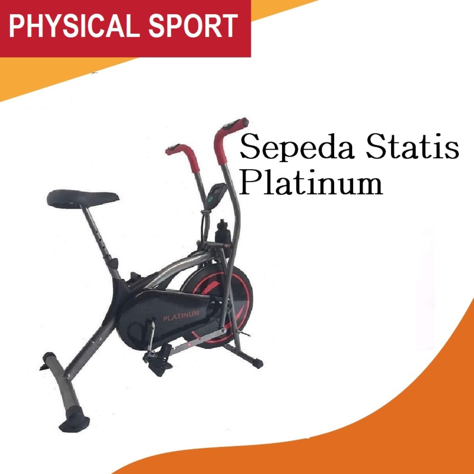 sports sepeda statis platinum black