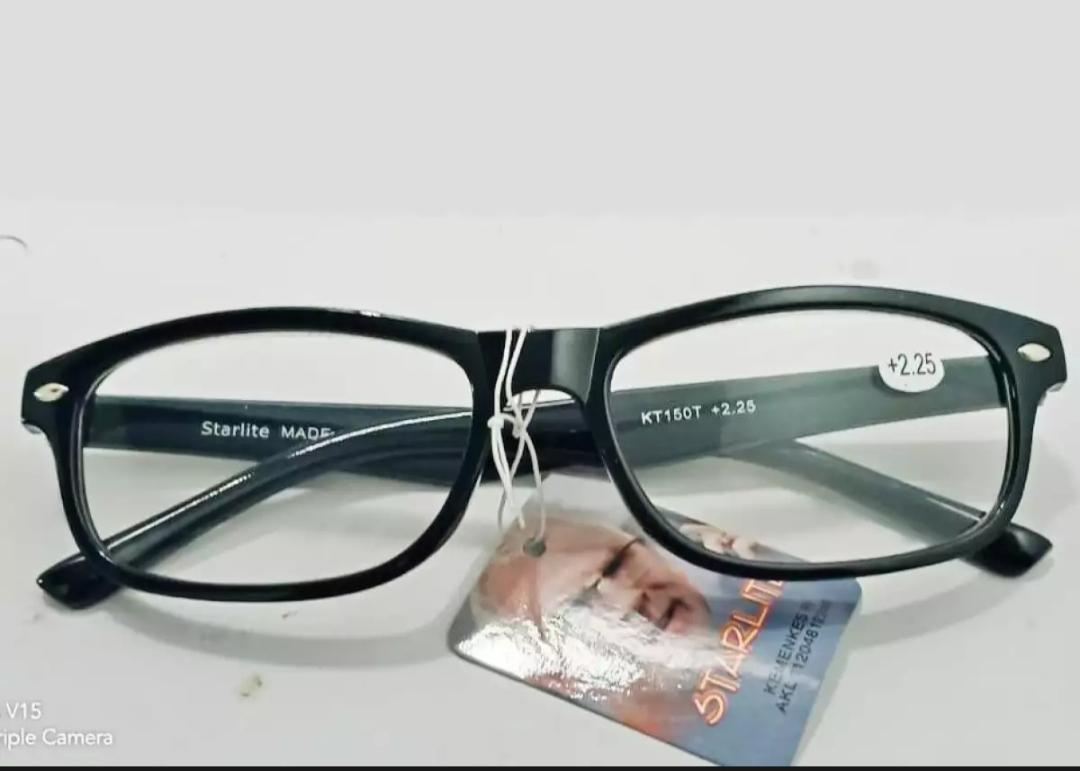 kacamata baca lensa plus 1.00 sampai 3.00 derajat untuk pria wanita ready stock best er ( tanpa case )