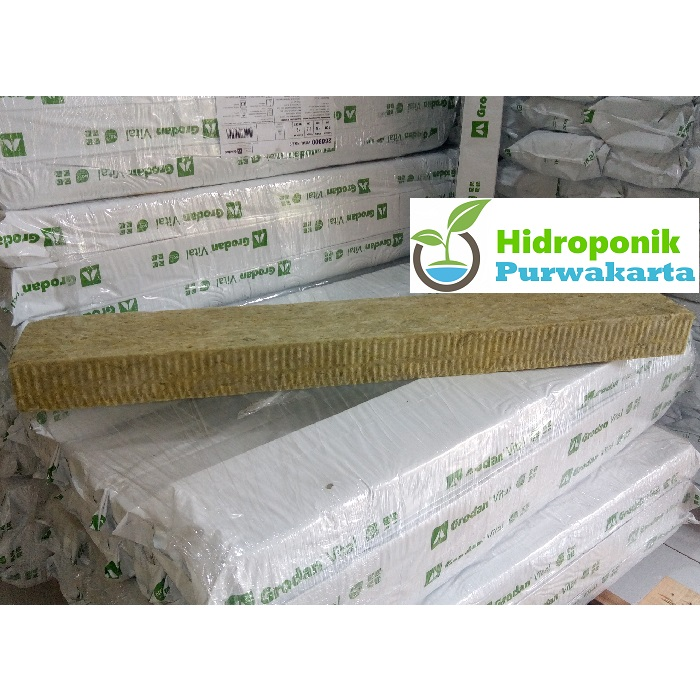 rockwool hidroponik groslab  berkualitas untuk 700 kotak tanam. rockwool dengan ng2.2 teknologi memberikan pertumbuhan akar tanaman lebih cepat optimal sehingga hasil akhir tanaman akan memuaskan.