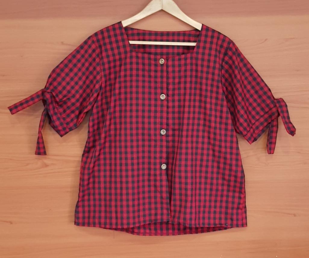 ace fashion atasan kemeja jumbo / blouse jumbo / atasan wanita jumbo / tunik wanita jumbo / pakaian wanita jumbo / baju wanita jumbo / atasan jumbo muslim 25