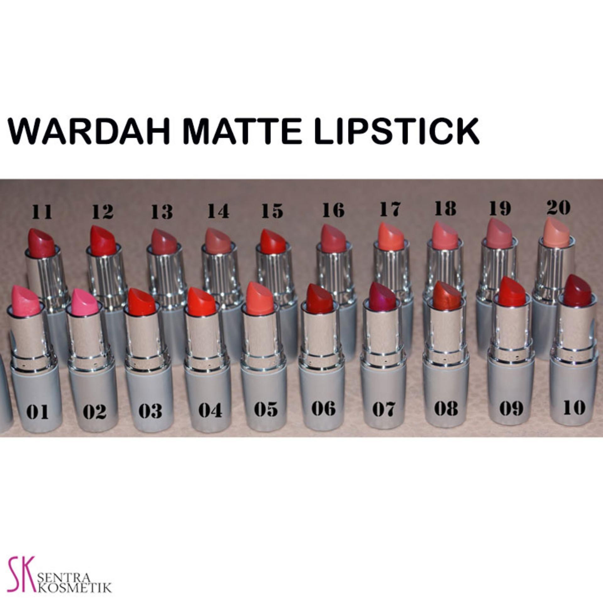 Review Wardah Matte Lipstick No 13 Cocoa Look Dan Harga Terkini