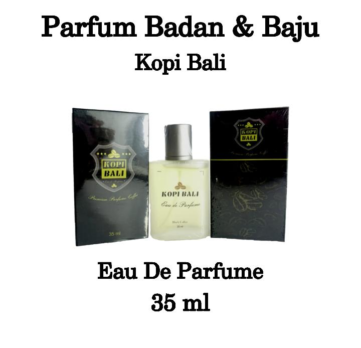 cod – parfum babaju pria wanita edp kopi bali packaging dus isi 35 ml – aroma black coffee