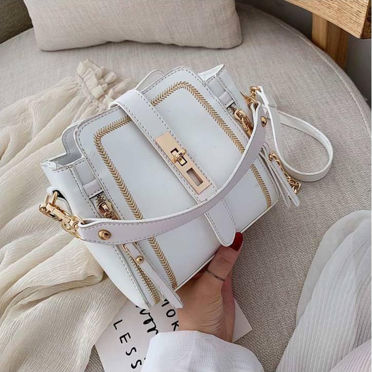 q2599 tas tangan import wanita  handbag selempang branded korea  original batam 2020