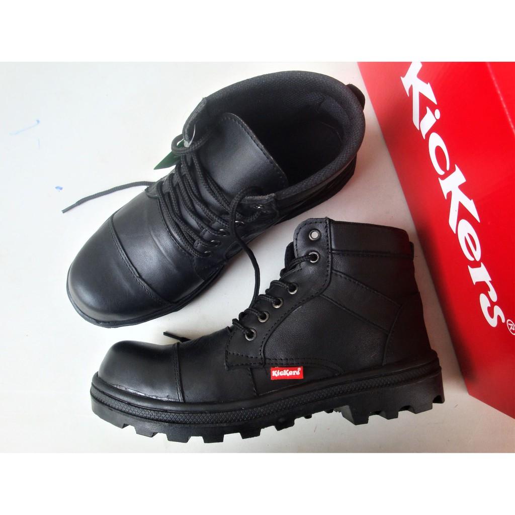 sepatu boots pria sepatu safety pdl pria sepatu turing sepatu motor sepatu militer semi boot tinggi  terjangkau