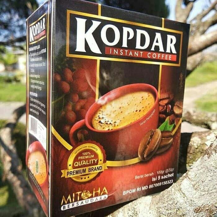 Kopi Kopdar - isi 5 sachet