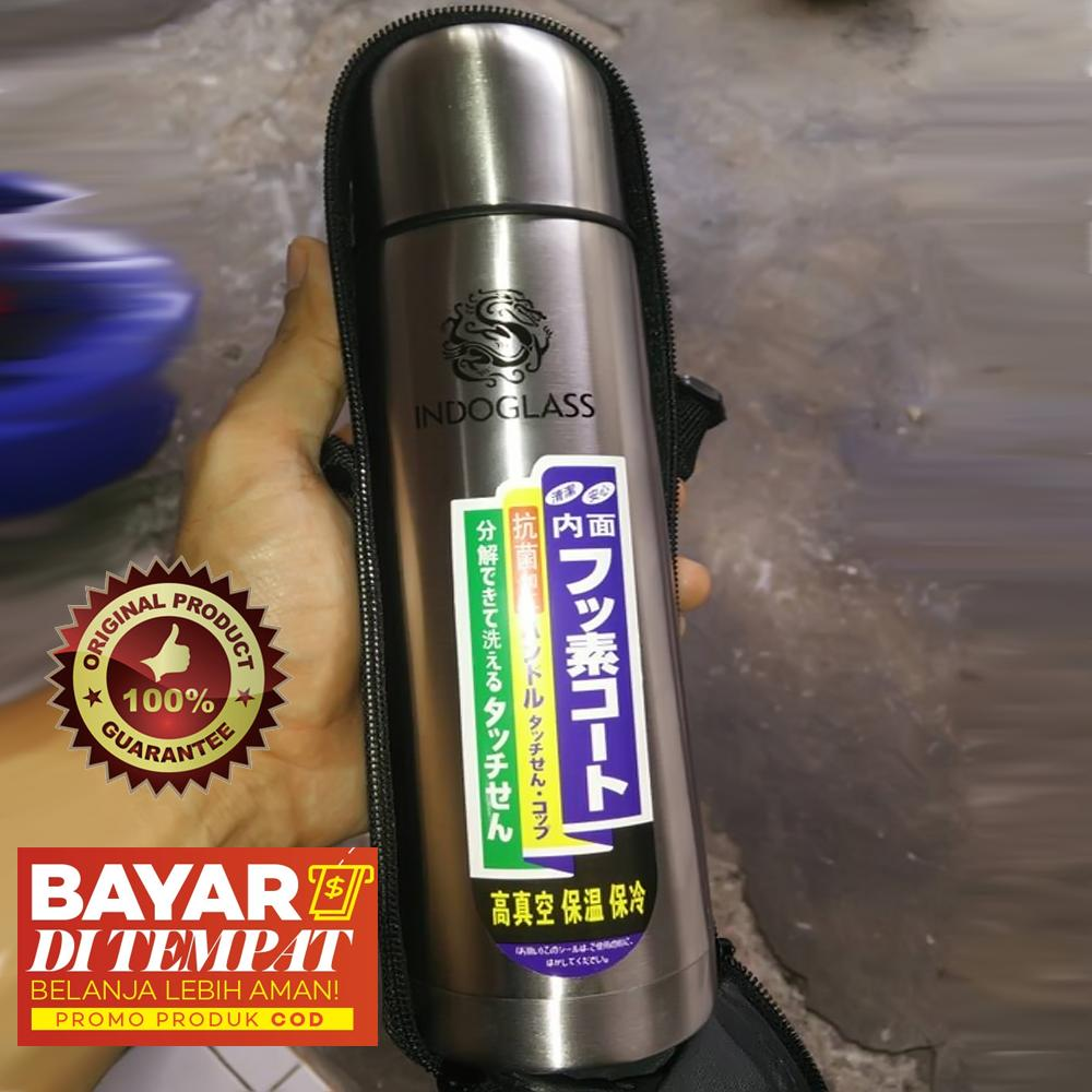 termos air panas (vacuum bottle) stainless steel – 350 ml