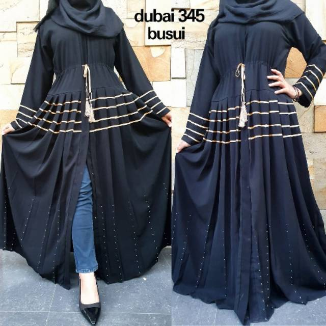 abaya gamis maxi dress arab saubordir zephy turki dubai 385 prada