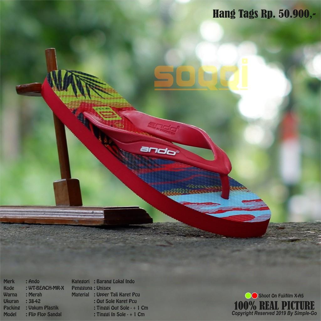 ando sandal jepit casual pria havana 06 size 38-42