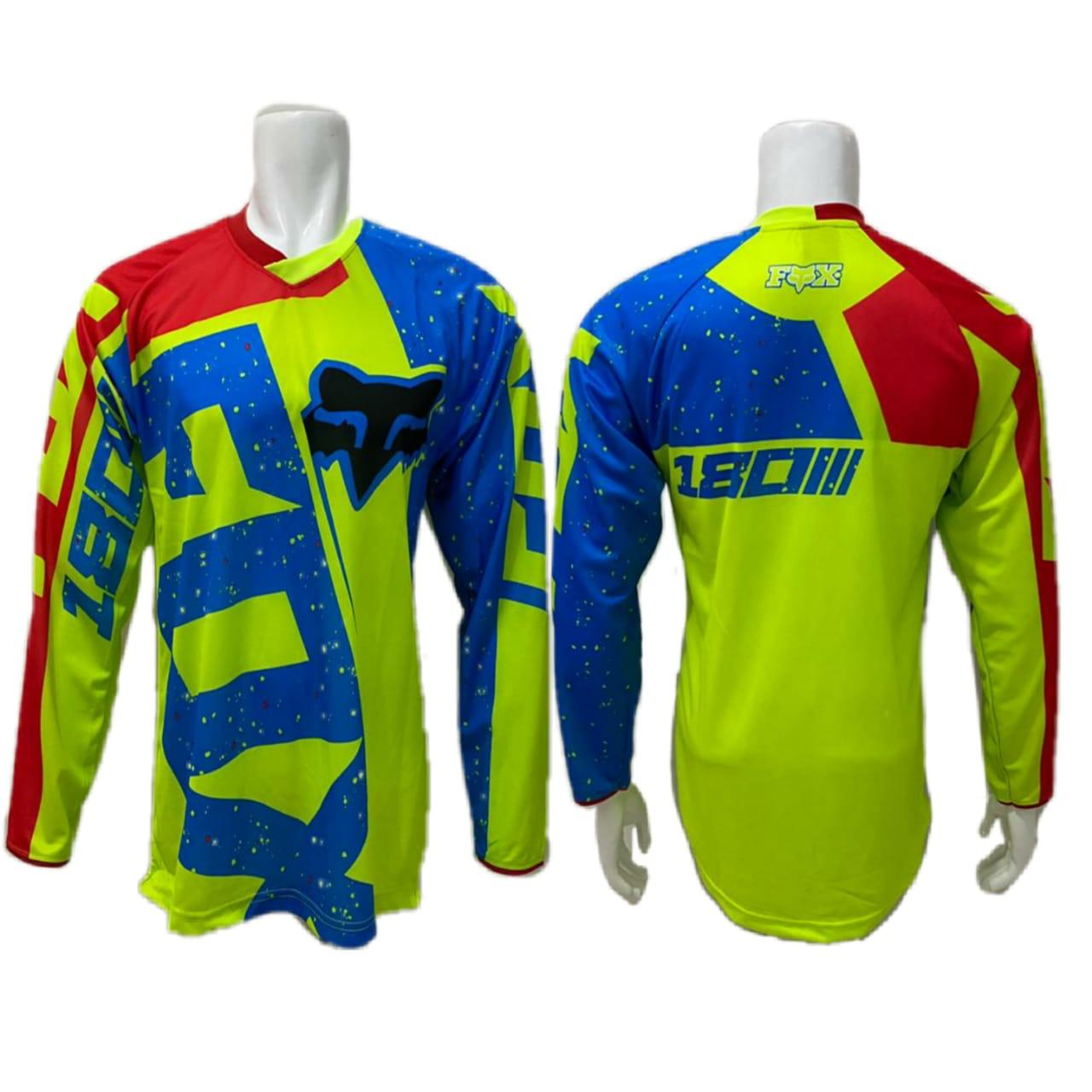 baju jersey sepeda cross downhill js lengan panjang/baju sepeda mtb dewasa