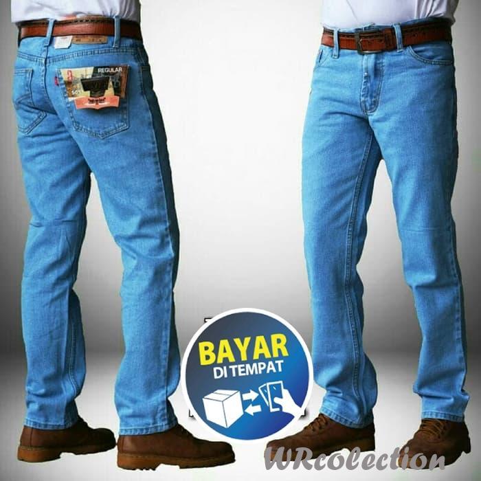 Celana Jeans Pria standar levis kualitas original