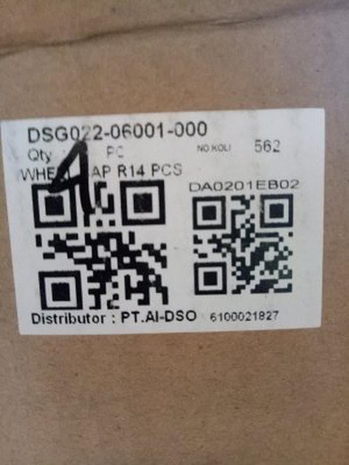 Detail Gambar dop velg vleg daihatsu sigra ring 14 ori 1buah grab it fast Terbaru