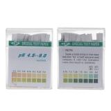100 Strip 4.5-9 PH Alkaline Acid Indikator Kertas Air Saliva Litmus Pengujian Kit- ...