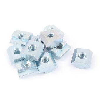 10 Pcs 80/20 Inc T-slot Hardware 40 Seri M8 Slide Dalam T-nut