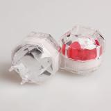 10 Buah Akrilik Bening Anting-Anting Cincin Kotak Tampilan Penyimpanan Penyelenggara wadah .