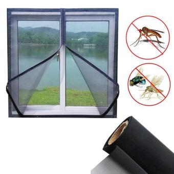 150 cm x 130 cm jala serangga terbang nyamuk jendela layar hitam - International