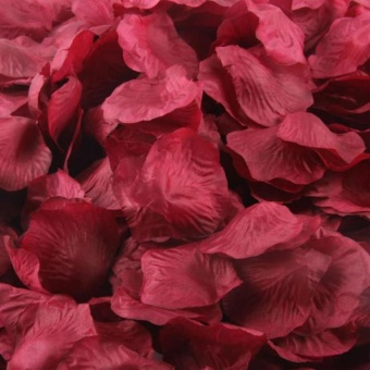 2000 Pcs Multicolor Sutra Buatan Kelopak Mawar Pesta Pernikahan Bunga Nikmat Decor-Intl