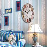 ... 30 Cm Eropa Pedesaan Vintage Retro Lusuh Chic Dekorasi Dapur Digital  Model Jam Dinding Kayu 4 4f05cefed5