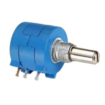 3590S-2-104L 100 K Ohm Putar Wirewound Potensiometer 10 Lingkaran Resistor-Internasional