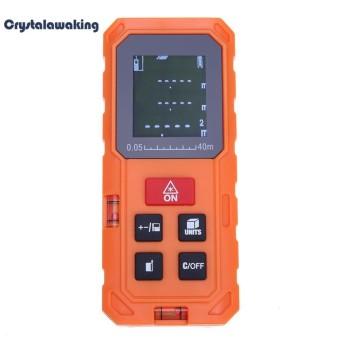 40 M/131ft Genggam Digital Laser Range Finder Volume Jarak Area Meter (Orange)
