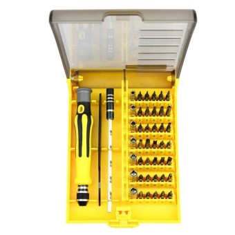 45 in 1 Precision Torx Screwdriver Phone Repair Tool Set for Laptop Computer PC - intl