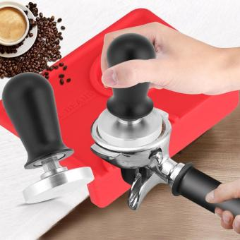 58mm/51mm Stainless Steel Coffee Tamper Flat Base Espresso Beans Press Tool (51mm)